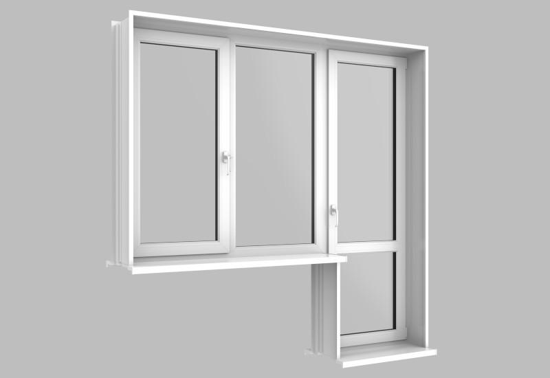 замена откосов и подоконника окна